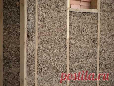 Опилки как утеплитель: за и против, технология - пропорции смеси с известью, глиной, цементом и гипсом