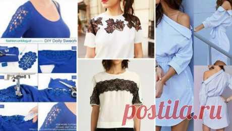 Идеи переделки одежды – вдохновляемся
