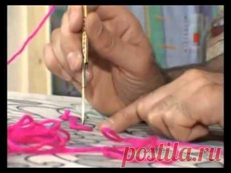 Вышиваем гобеленовые картины своими руками