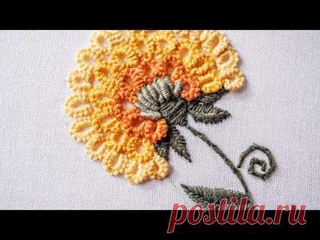 Бразильская вышивка, МК, Одуванчик - запись пользователя Наталья (Наталья) в сообществе Вышивка в категории Другие виды вышивки Просматривайте этот и другие пины на доске Embroidery & Crochet пользователя Iveta G. Теги