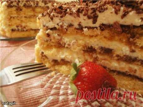 """Торт """"Швейцарский"""" (творожный)"""