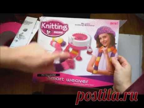 Детская вязальная машина Smart Weaver Knitting Machine CREATIVE GIRL