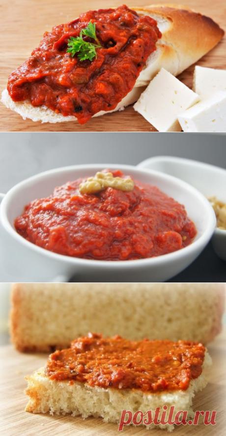 Заготовки – зарубежные традиции: готовим лютеницу / Простые рецепты