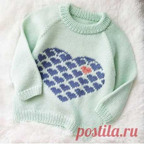 Схема для нежного свитера