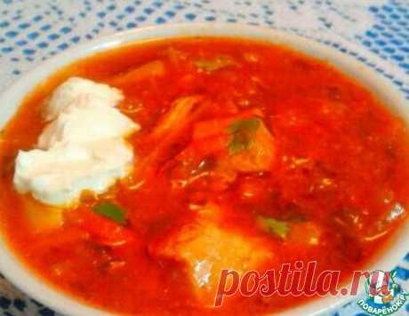 Украинский борщ от тети Нюси – кулинарный рецепт