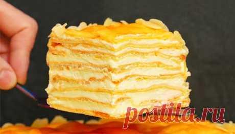 Торт «Пломбир» | Рецепты на FooDee.top