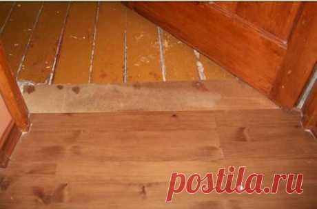 Ламинат на деревянный пол: можно ли класть, как положить своими руками Как стелить ламинат на деревянный пол, как выбрать подложку и выровнять деревянный пол под ламинат фанерой, инструкция и советы по укладке ламината на доску.