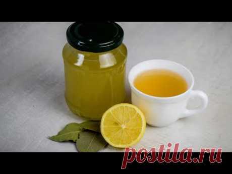 Очистите легкие и прекратите кашель (чай с лавровым листом и сироп)
