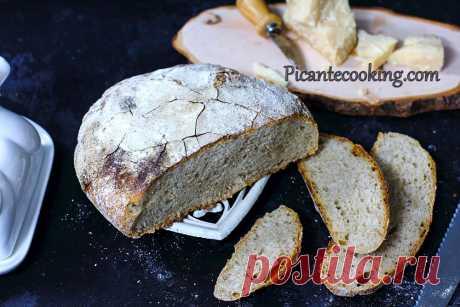 Вермонтский хлеб на закваске | Picantecooking