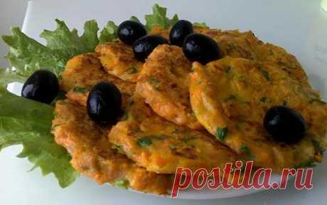 Польские оладушки из тыквы с колбасой / Простые рецепты