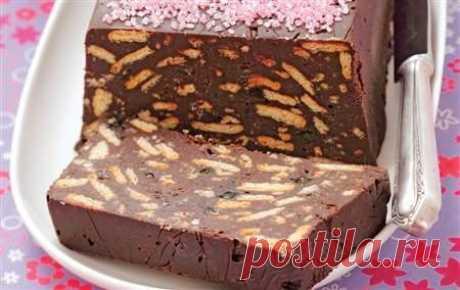 La torta sin cocción.