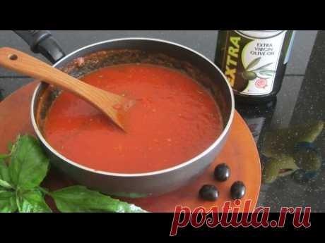 Итальянский Соус для Пиццы рецепт [LudaEasyCook]