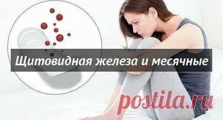 Щитовидная железа и месячные endocrinca.norminfo.ru/ Влияние щитовидной железы на месячные не менее очевидно при сбоях в ее работе...