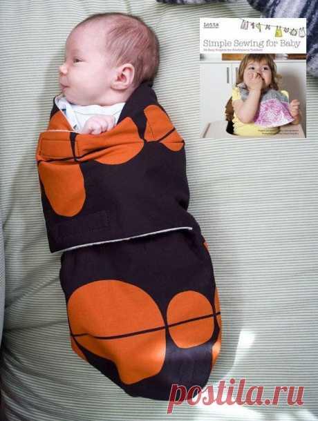 Выкройка пеленалки для младенца / Для детей / Модный сайт о стильной переделке одежды и интерьера