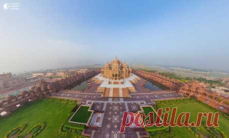 Храмовый комплекс Акшардхам, Дели, Индия