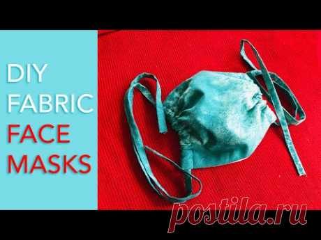 DIY: How To Sew Fabric Face Mask With Filter Pocket
