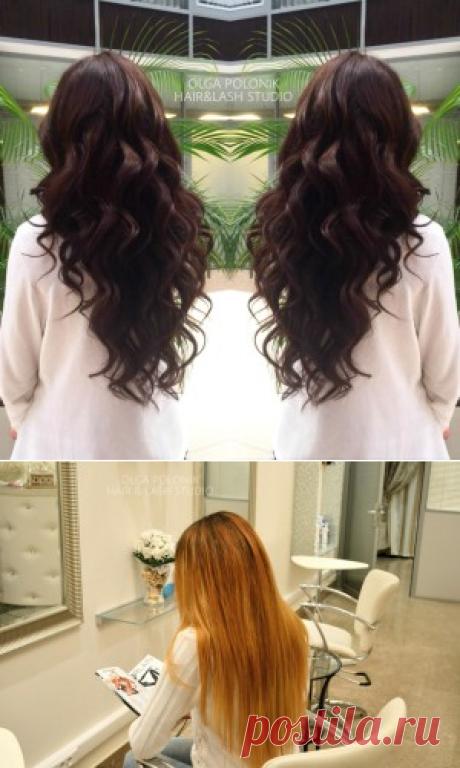 Качественное капсульное горячее наращивание волос в Москве: цены и фото от Hair & Lash Studio