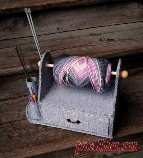 Органайзер для вязания - оцените его функциональность! Мастер класс. | Юлия Жданова | Яндекс Дзен