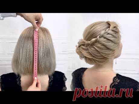 17 Быстрых причесок на короткие волосы.Простые и легкие прически