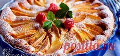 Рецепт шарлотки с яблоками в духовке простой и вкусный