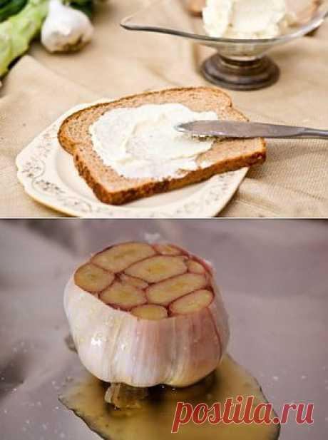 Чесночное масло - рецепт с фотографиями
