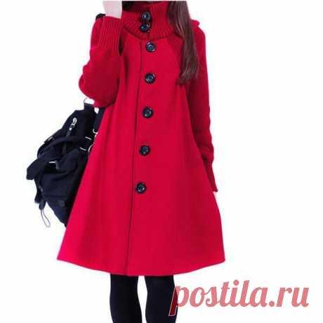 Зимняя мода случайные битой пальто женщин потерять хлопка куртки Толстовки – купить по низким ценам в интернет-магазине Joom