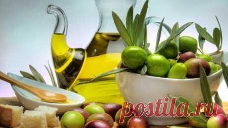 Оливковое масло - жидкое золото для нашей красоты