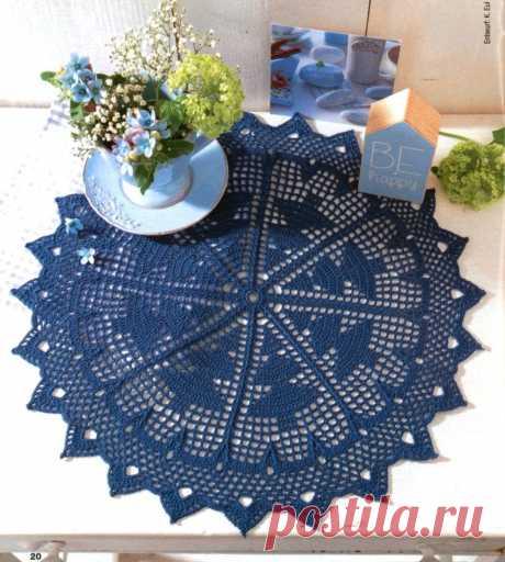 Подборка интерьерных салфеток крючком. | Asha. Вязание и дизайн.🌶 | Яндекс Дзен