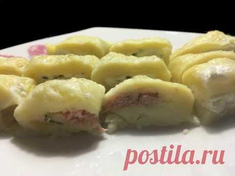 Очень вкусная ленивая закуска из картофеля. На скорую руку. | Вахрушев А.В. | Яндекс Дзен