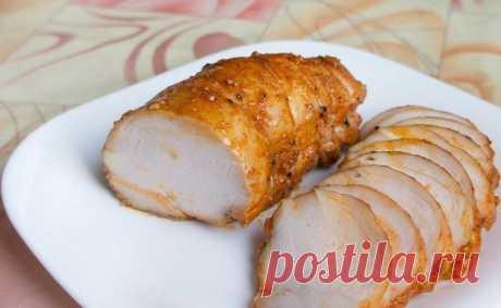 Пастрома из куриной грудки - Простые рецепты Овкусе.ру