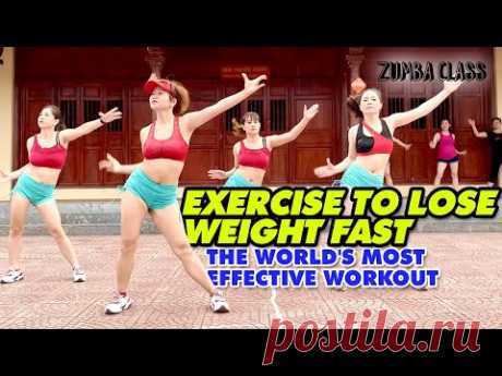 Exercise To Lose Weight FAST l The World's Most Effective Workout l Zumba Class
