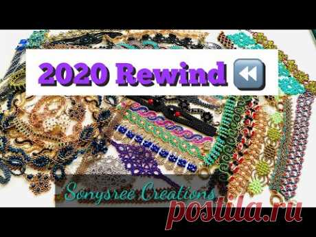 Beaded Jewelry Collections 2020    2020 YouTube rewind    Happy New Year 2021