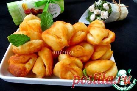 Творожно-сметанные фигурные пончики – кулинарный рецепт