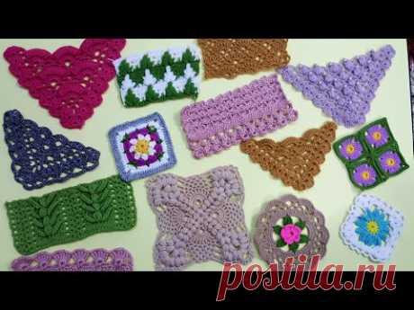 100 различных моделей и моделей вязания для вязаных жилетов, шалей и одеял