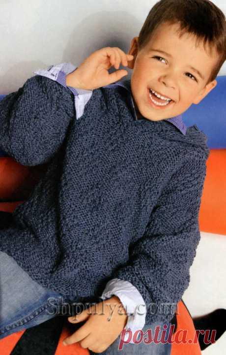 Пуловер с капюшоном для мальчика - SHPULYA.com