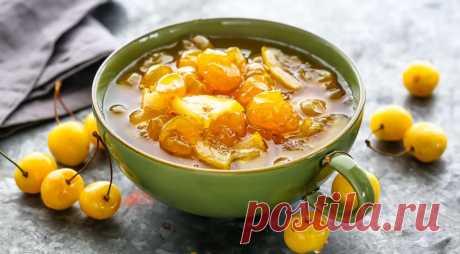 Варенье из белой черешни с лимоном, пошаговый рецепт с фото