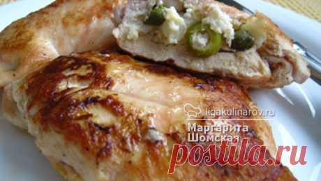 Куриные грудки с начинкой - рецепт пошаговый с фото