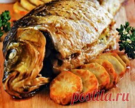 Фаршированная рыба по-татарски