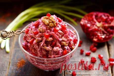 Салат из свеклы по-кавказски – очень хорош, всё-таки на Кавказе знают толк во вкусной еде - Женский журнал