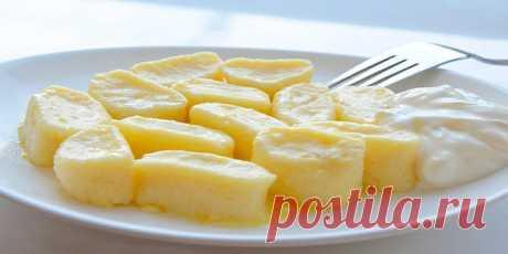 Ленивые вареники из творога — одно из наших любимых блюд- Вкусно, просто и очень быстро.