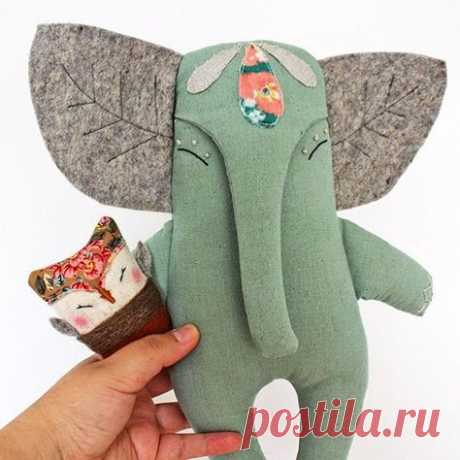 Sewing projects toys stuffed elephant 35 ideas for 2019