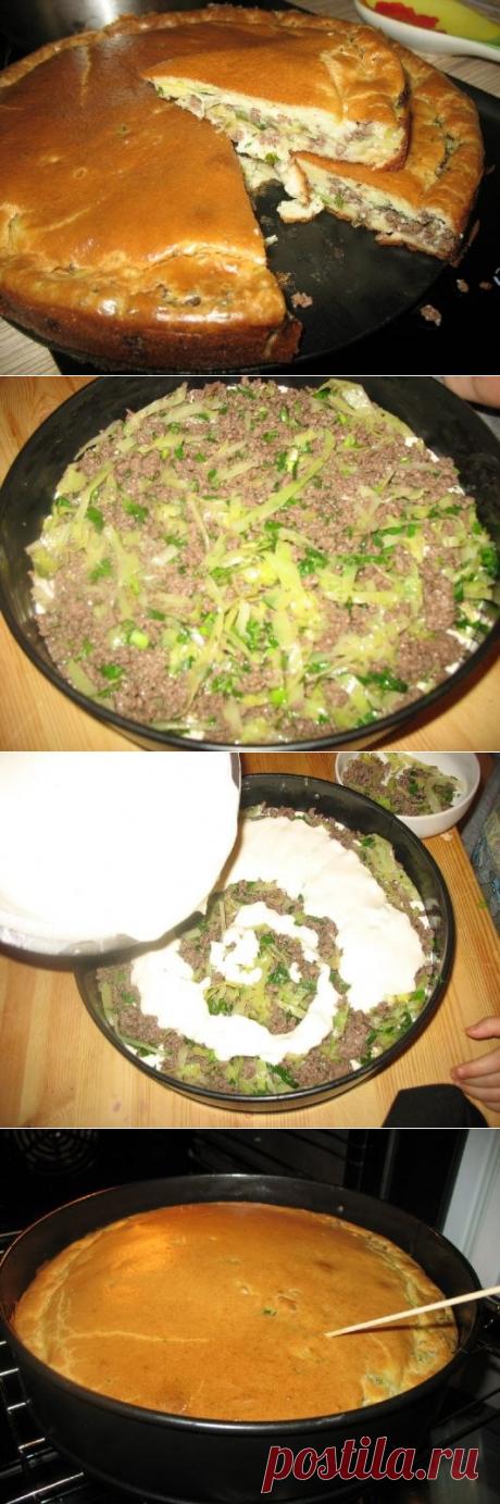 Супер нежный пирог с капустой и мясом - Простые рецепты Овкусе.ру