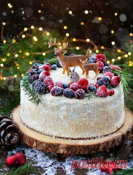 Рождественские торты и печенье (подборка) Модная одежда и дизайн интерьера своими руками