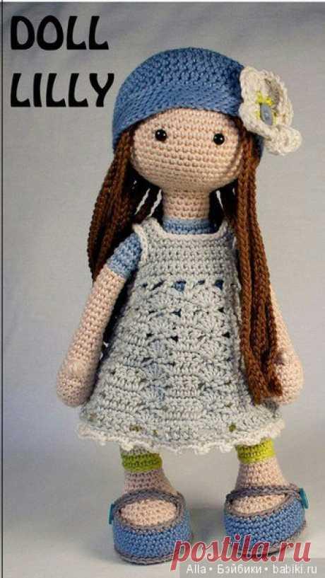 Куколка Лили от Carola Herbst - хема вязания игрушки / Схемы вязания игрушек / Бэйбики. Куклы фото. Одежда для кукол