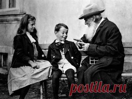 10 правил воспитания детей поТолстому   Люблю Себя