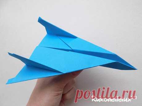 Самолет из бумаги: схемы, оригами бумажного самолёта своими руками мк пошагово с фото