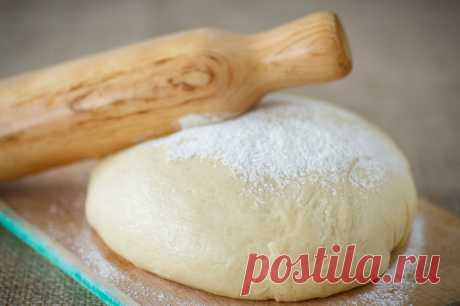 Kefir dough - the Lady of Mail.Ru