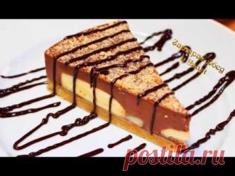 Торт без выпечки за 15 минут. Простой рецепт шоколадно-бананового чуда / Видео-рецепты / TVCook: пошаговые рецепты с фото
