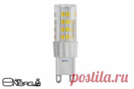 Светодиодная лампа с цоколем G9 | Купить светодиодные лампы с цоколем G9 в Минске