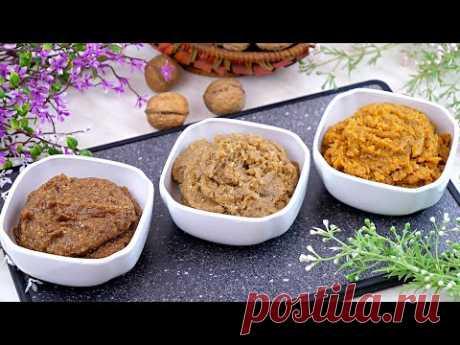 3 варианта ореховой начинки для булочек, рогаликов, рулетов, пирогов, трубочек, печенья